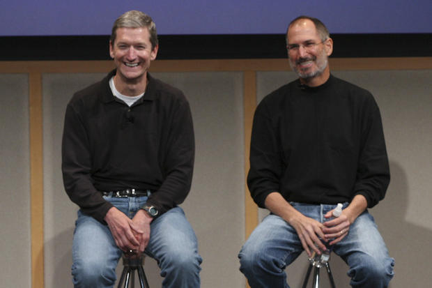 """Tim Cook: """"I've never really felt the weight of trying to be Steve"""