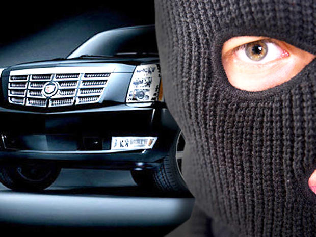 Top 10 most stolen vehicles in the U.S.