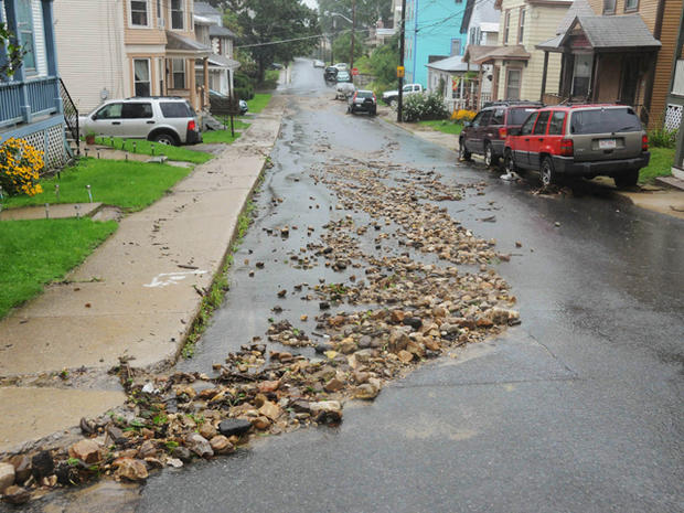 Irene's trail of destruction