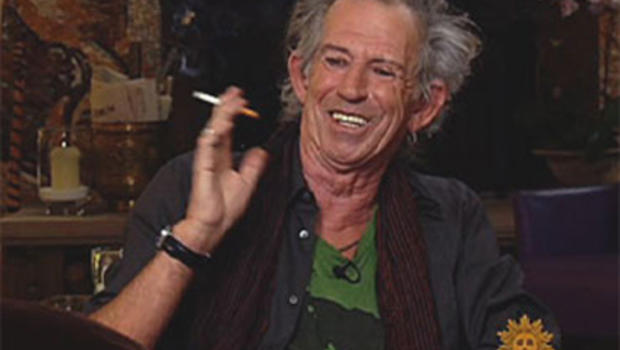 Keith Richards on Snorting Dad's Ashes