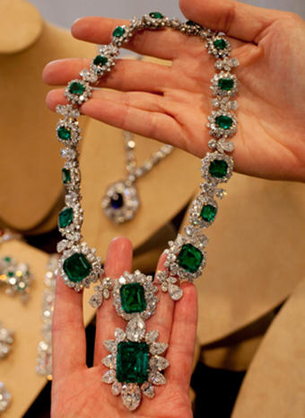 Elizabeth Taylor's jewels