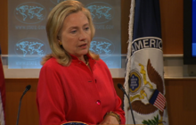 Clinton comments on release of U.S. hikers in Iran
