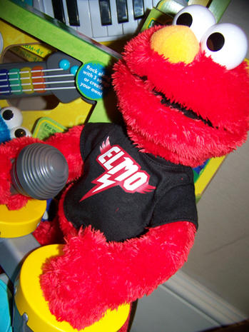 Elmo (and friends) in New York