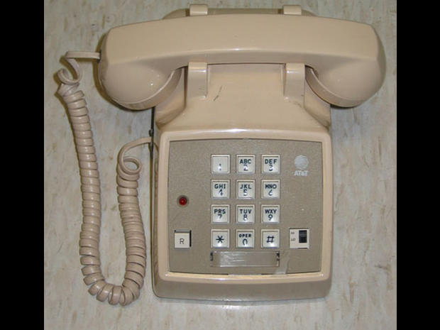 Touch-tone phone - 1980s