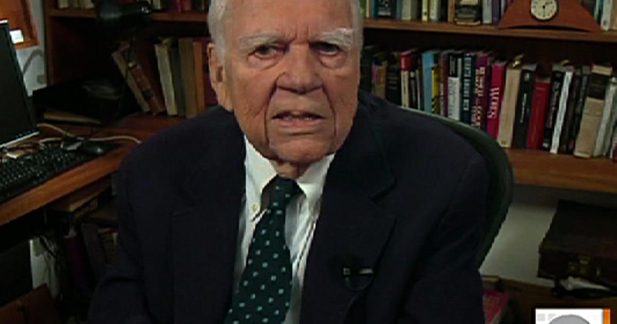 Andy Rooney Exiting '60 Minutes' Sunday