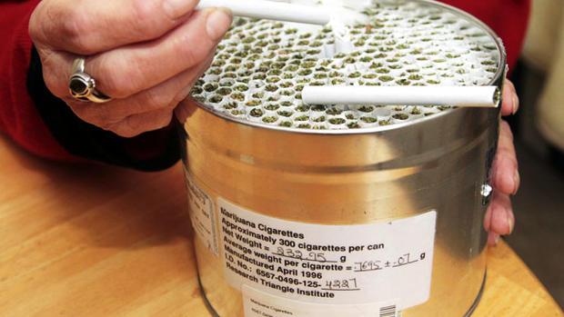 Free pot? Federal program ships marijuana to four