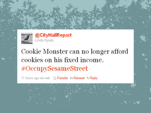 Funniest #OccupySesameStreet tweets
