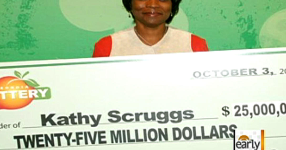 Ga  Lottery: Woman gets $25M after store mistake - CBS News