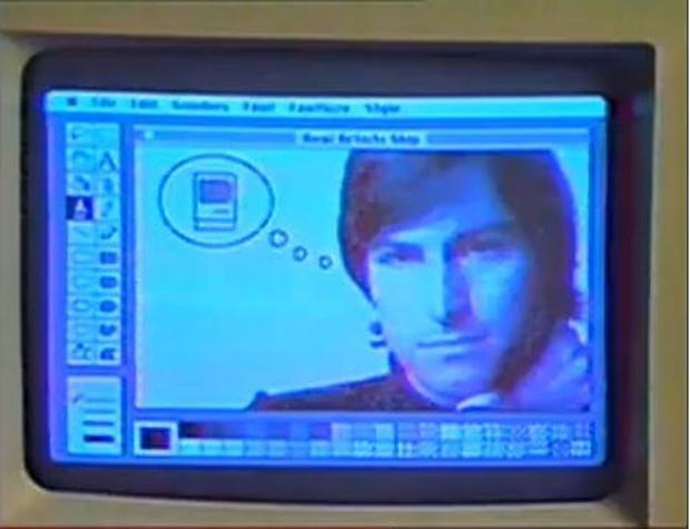Steve Jobs introduces the Macintosh, and vice versa