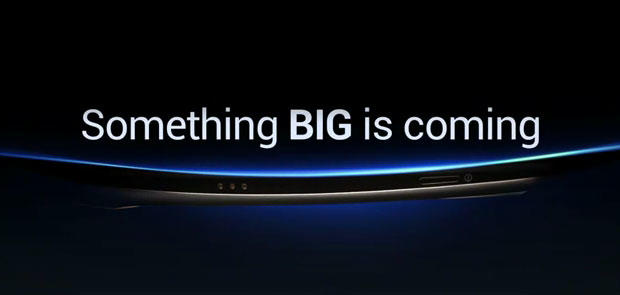 Samsung's next Android phone looks very curvy.