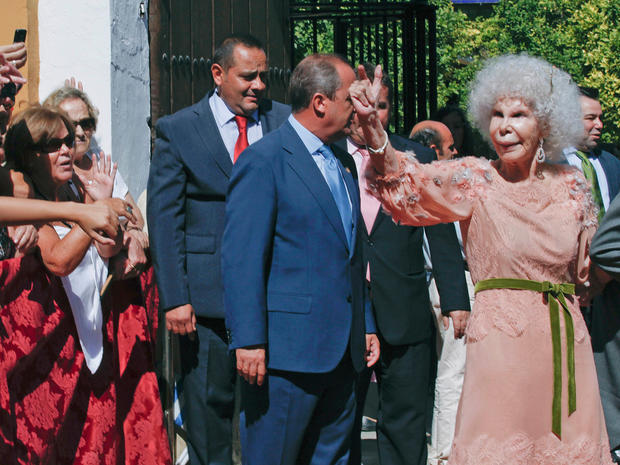 Duchess of Alba, 85, marries for third time