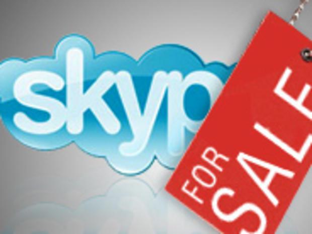 Skype for sale logo