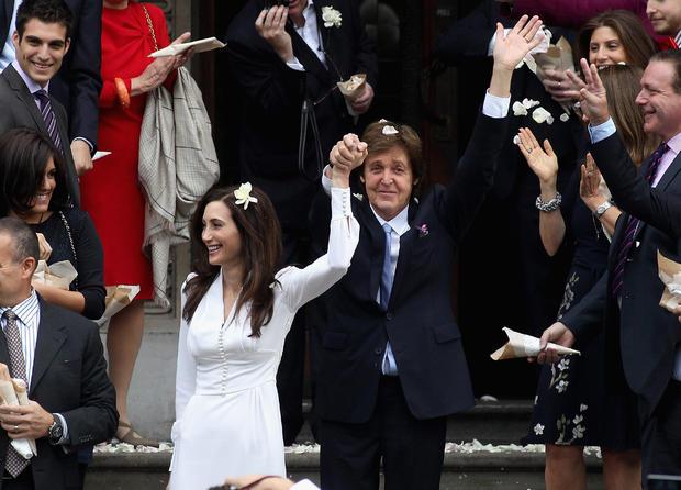 Paul McCartney weds Nancy Shevell