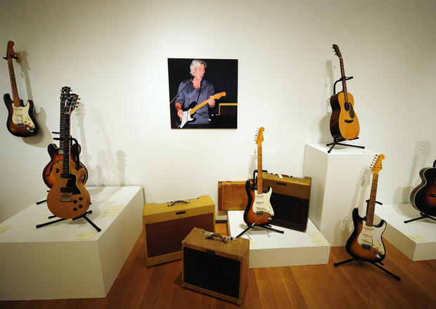 Richard Gere's guitar collection