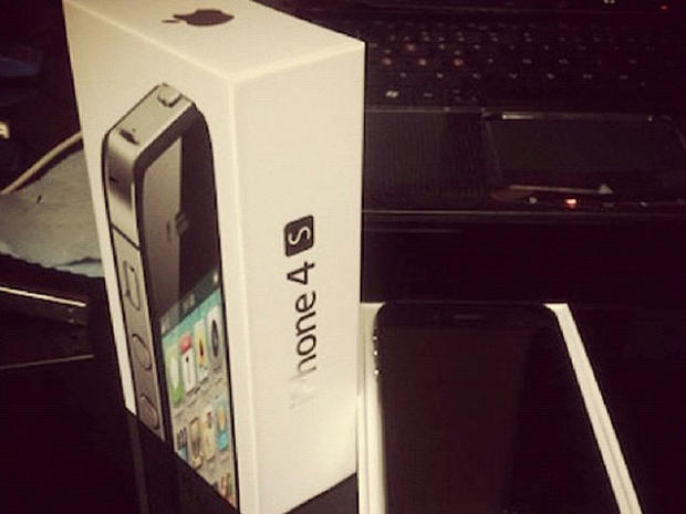 iPhone 4S has arrived, sort of
