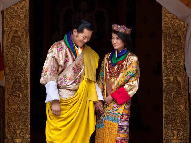 Royal wedding in Bhutan