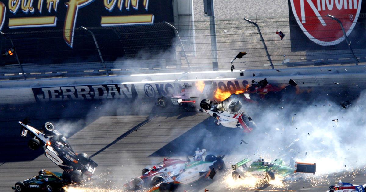 Crash Death Indy Car