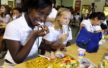 Obesity-fighting school says no to cupcakes, yes to exercise