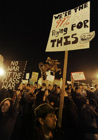 """Occupy"" protests: Month 2"