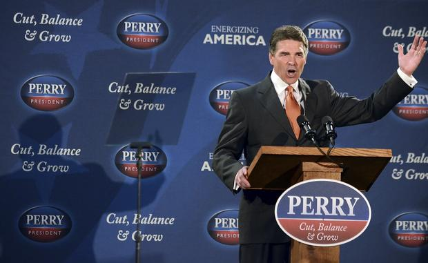 Rick Perry on the campaign trail