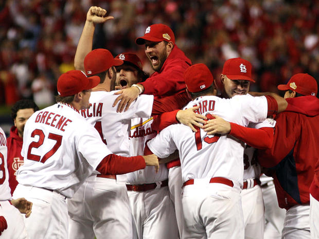 St. Louis Cardinals celebrate