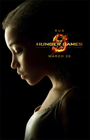 """The Hunger Games"" character posters"