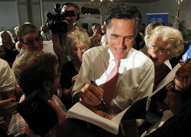 Mitt Romney on the trail