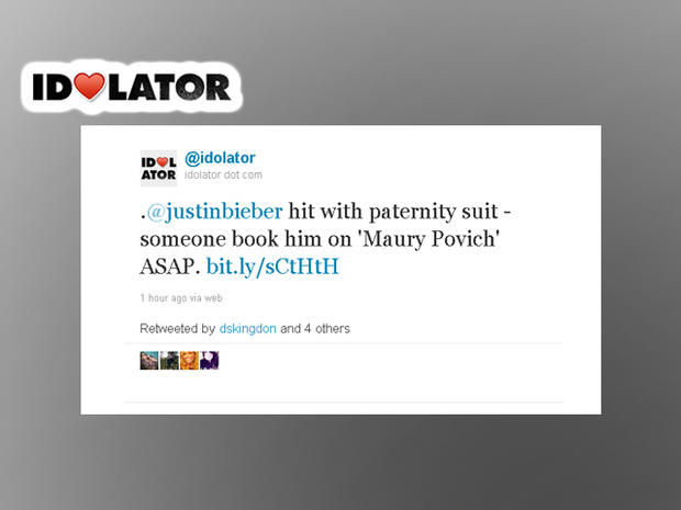 Twitter reacts to Justin Bieber paternity allegations