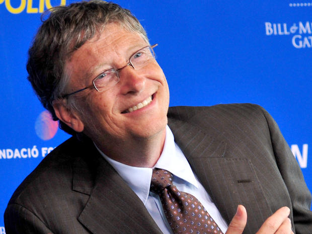 Bill Gates listens to a question during a press conference at the Newseum July 28, 2011, in Washington.