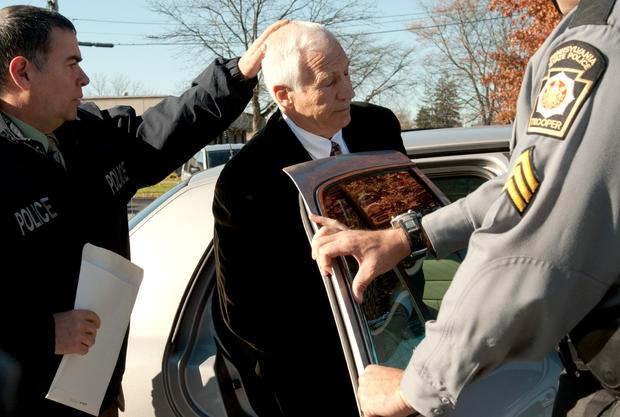 "Gerald ""Jerry"" Sandusky is taken into police custody"