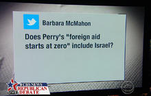 Perry: All countries start at zero foreign aid