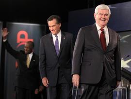 Mitt Romney, Newt Gingrich