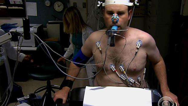 Heart attack patient Ken Milles