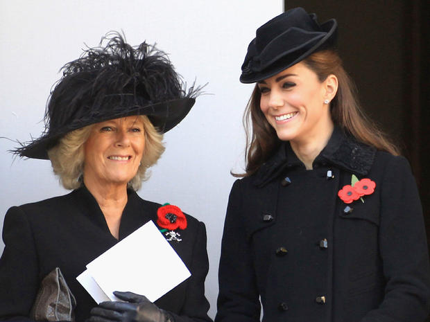 Royals mark Remembrance Day