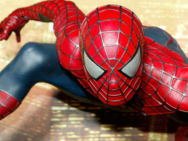 """Interactive """"Spider-Man 2"""" attraction is unveiled at Madame Tussauds July 15, 2004, in London."""