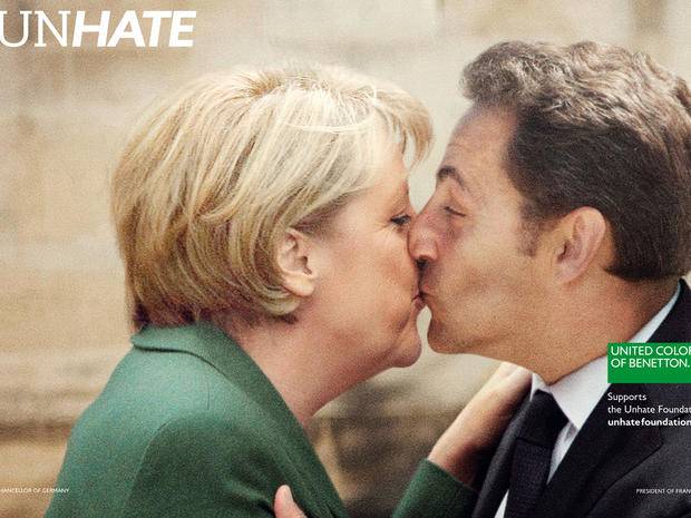 Benetton's Unhate Ad Campaign