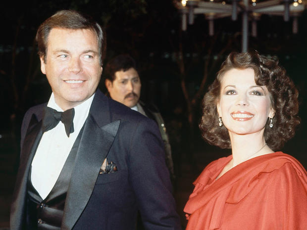 Robert Wagner and Natalie Wood  at Academy Awards, April 1978.