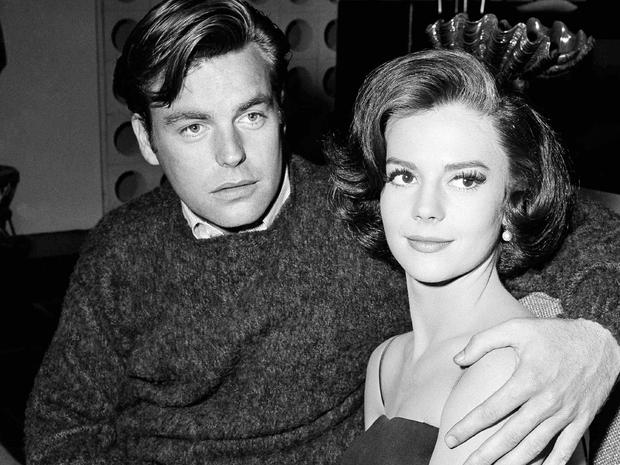 Natalei Wood and Robert Wagner in 1959