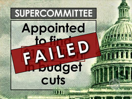 Supercommittee failure risks another recession
