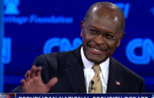 "Cain's on a debate ""Blitz"""