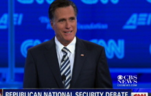 Did Romney flip-flop on his name?