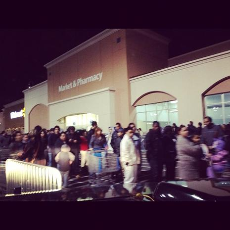 Black Friday 2011 told through Instagrams