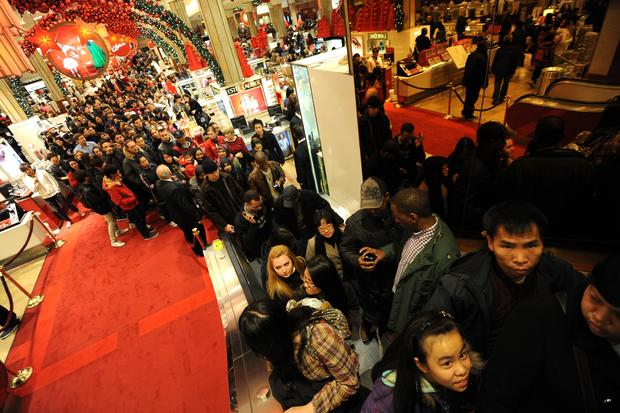 Black Friday shopping blitz