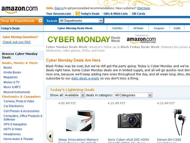 Cyber Monday 2011 tech deals