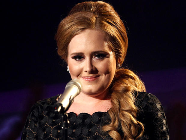 Grammy nomination favorite: Adele