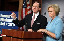 Pat Toomey, Claire McCaskill