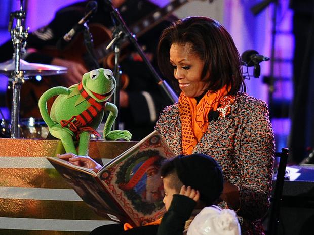 Michelle Obama-Kermit