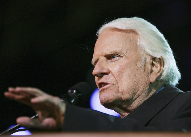 The Rev. Billy Graham 1918-2018