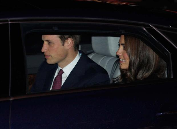 The royals attend charity concert