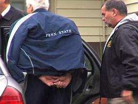 Sandusky arrested